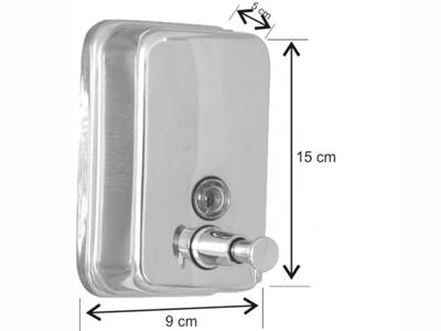 Metal Sıvı Sabunluk 500 Ml