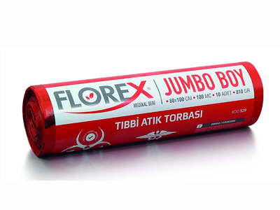 Florex Tıbbi Atık 80*110 Jumbo