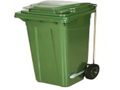 Çöp Konteyneri Pedallı 120 Lt